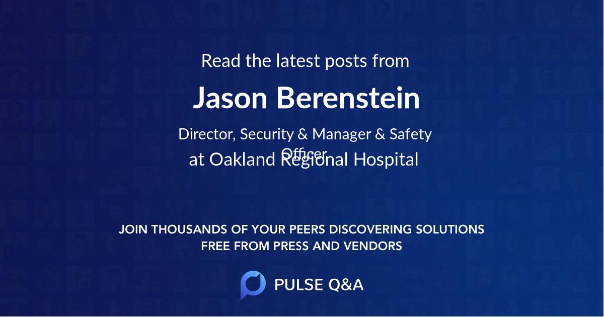 Jason Berenstein
