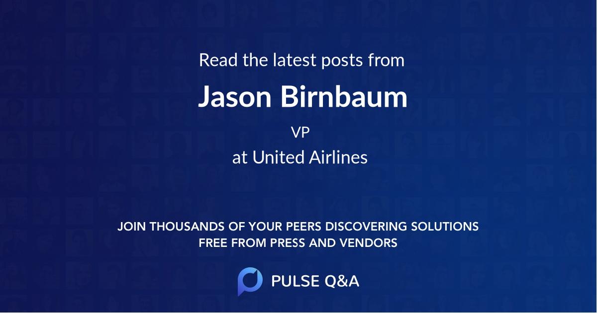 Jason Birnbaum