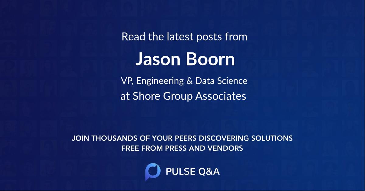 Jason Boorn