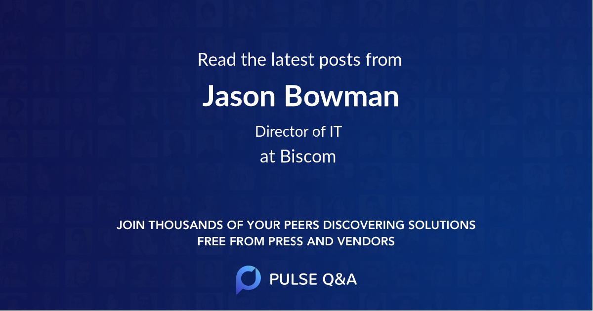 Jason Bowman
