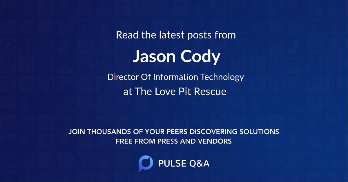 Jason Cody