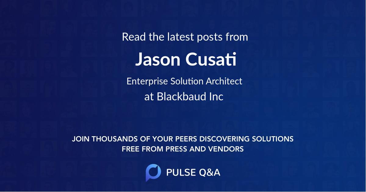 Jason Cusati