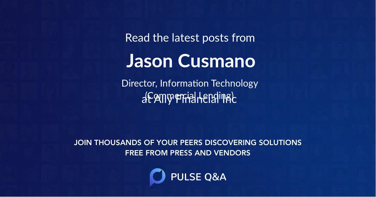 Jason Cusmano
