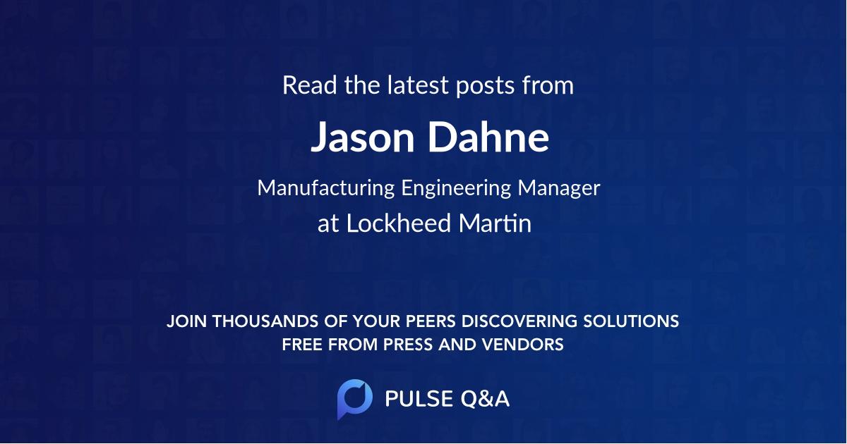 Jason Dahne