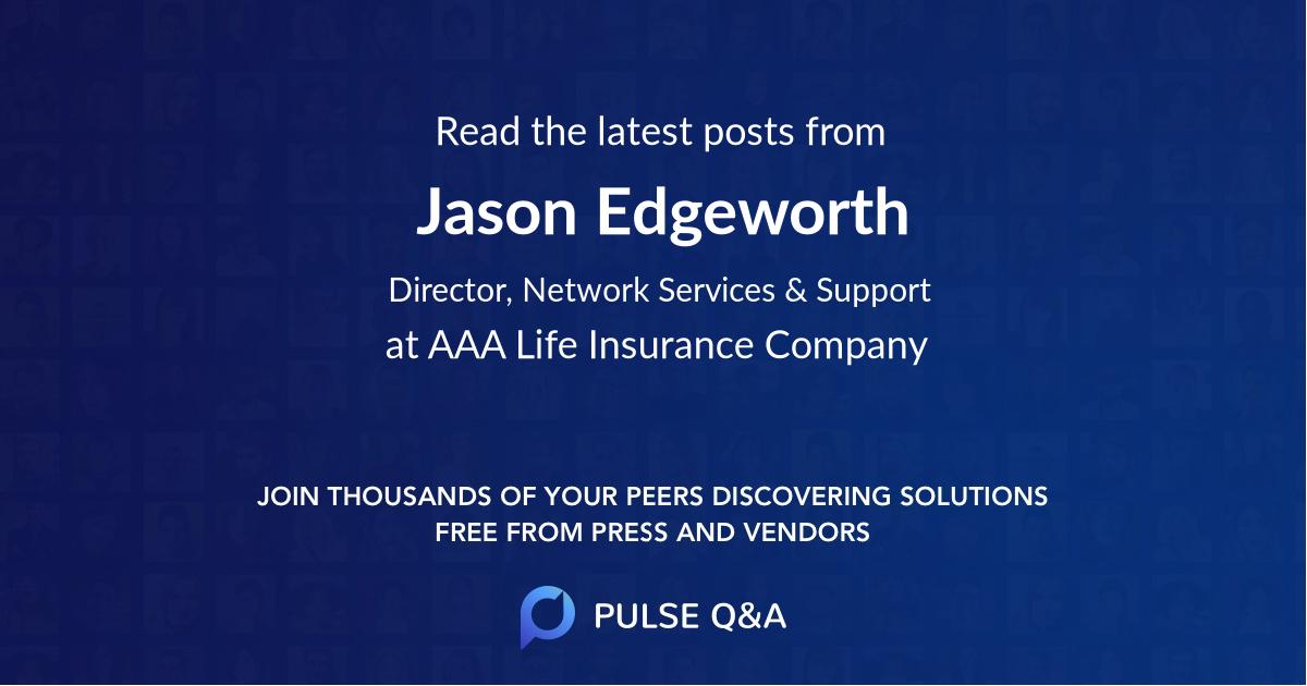 Jason Edgeworth