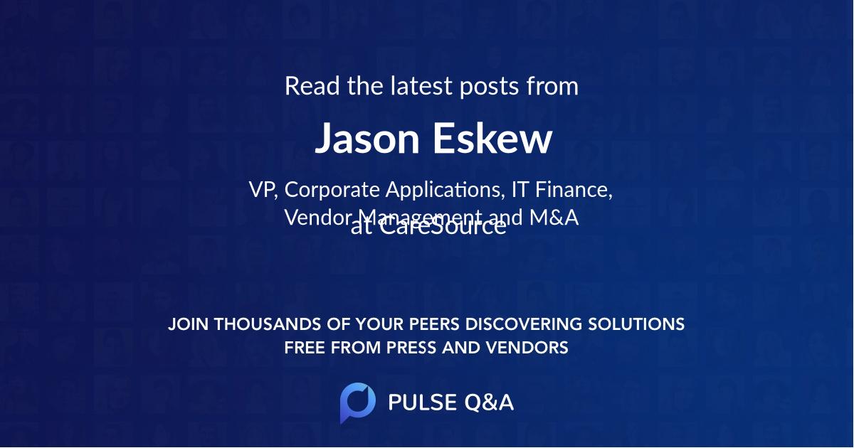 Jason Eskew
