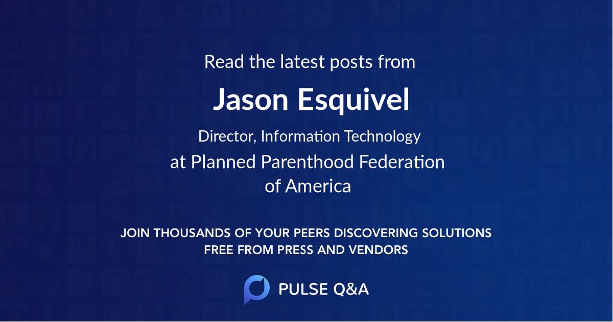 Jason Esquivel