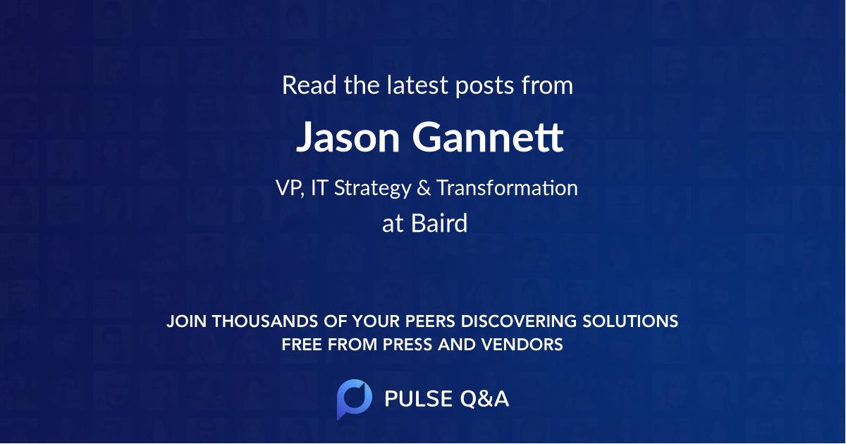 Jason Gannett