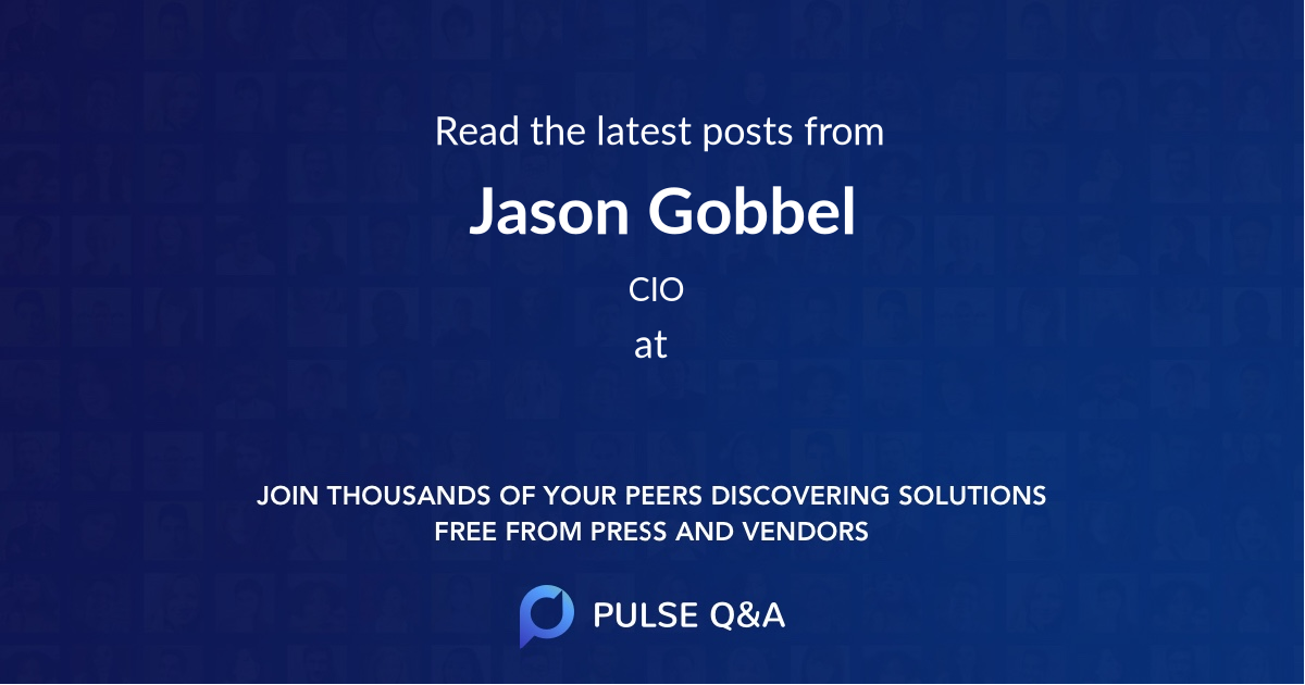 Jason Gobbel