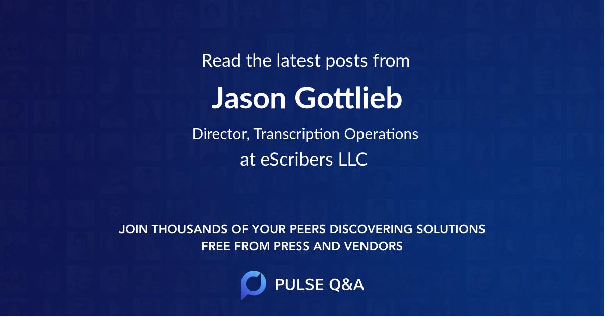 Jason Gottlieb