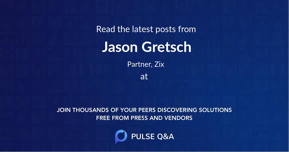 Jason Gretsch