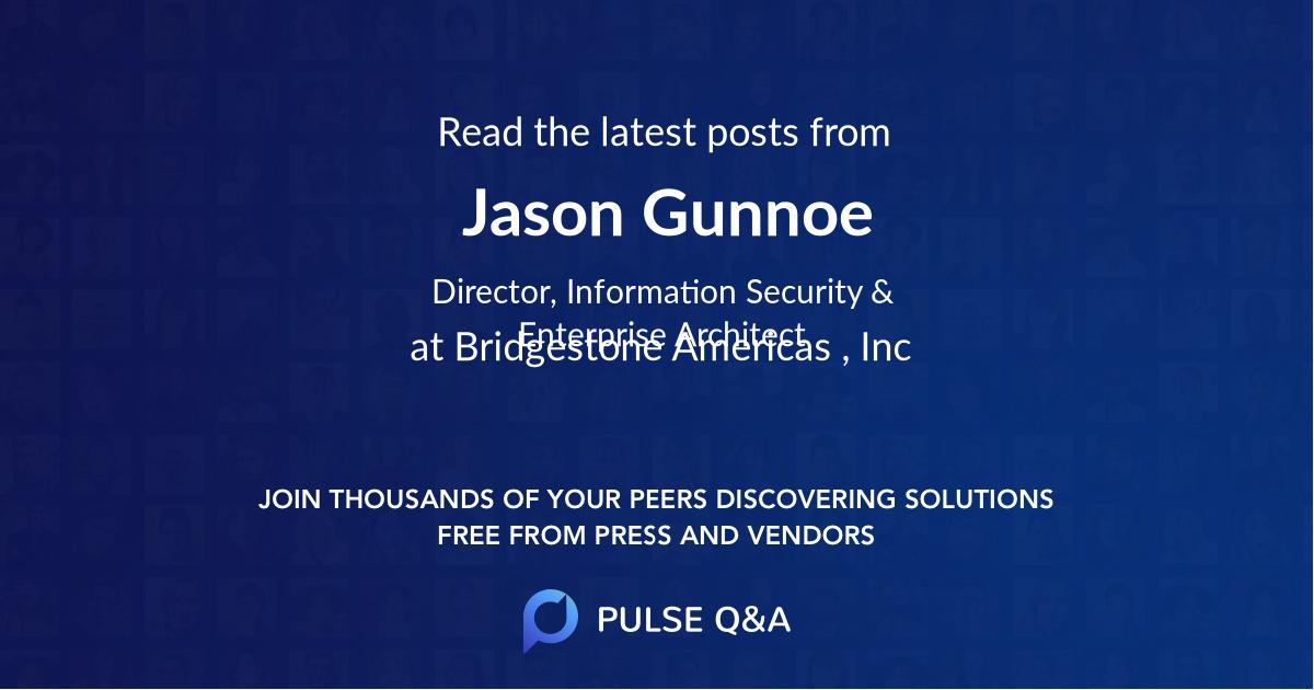 Jason Gunnoe