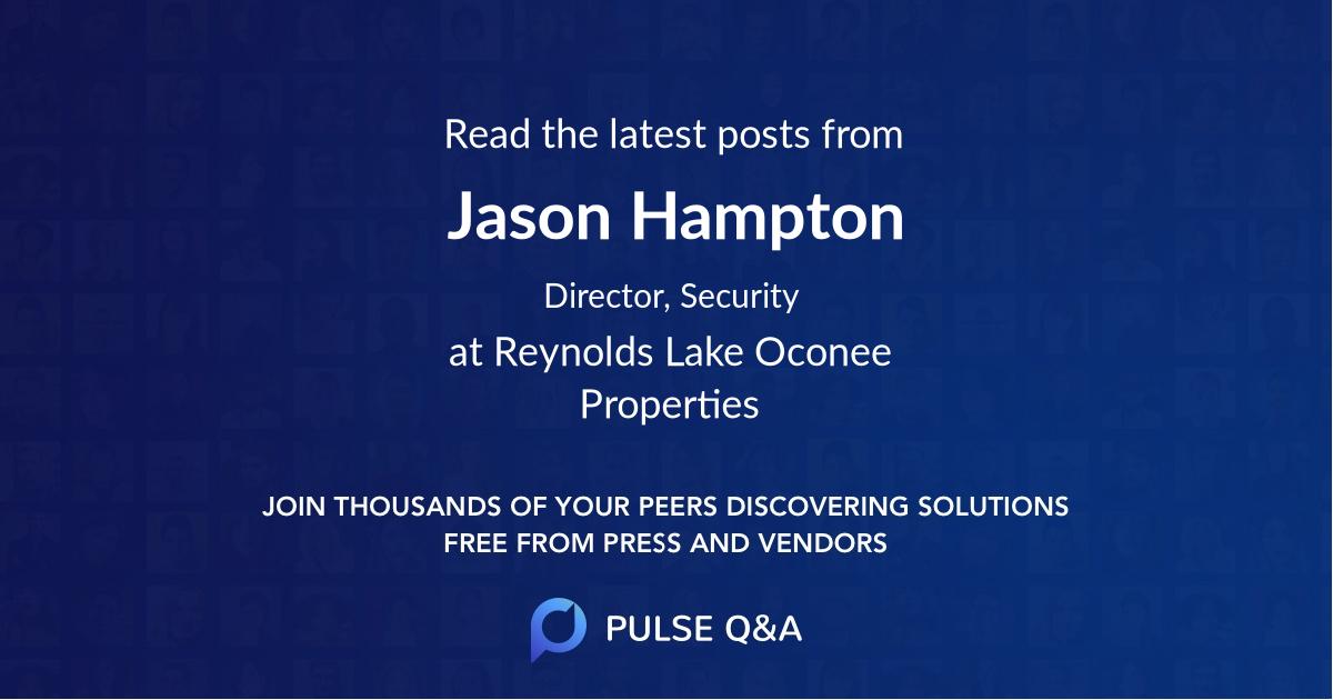 Jason Hampton