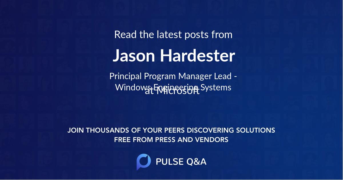 Jason Hardester