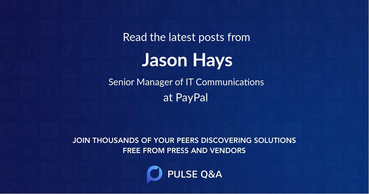 Jason Hays