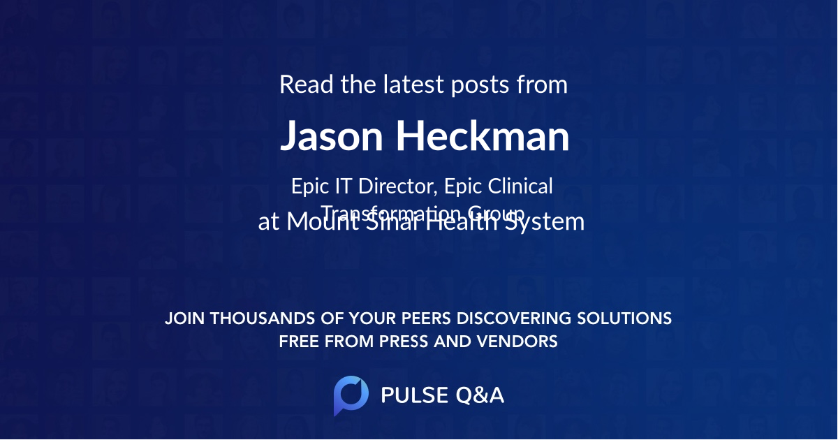 Jason Heckman