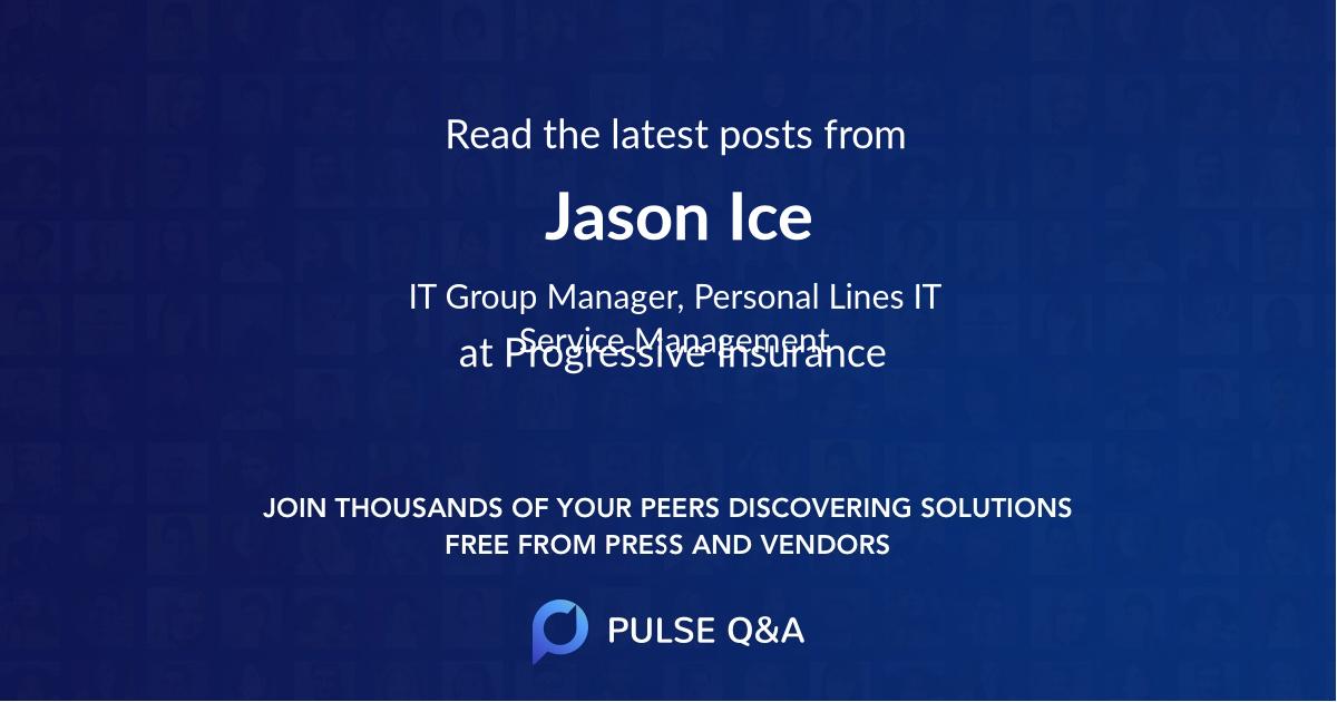 Jason Ice