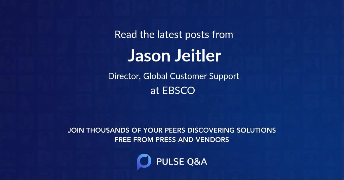 Jason Jeitler