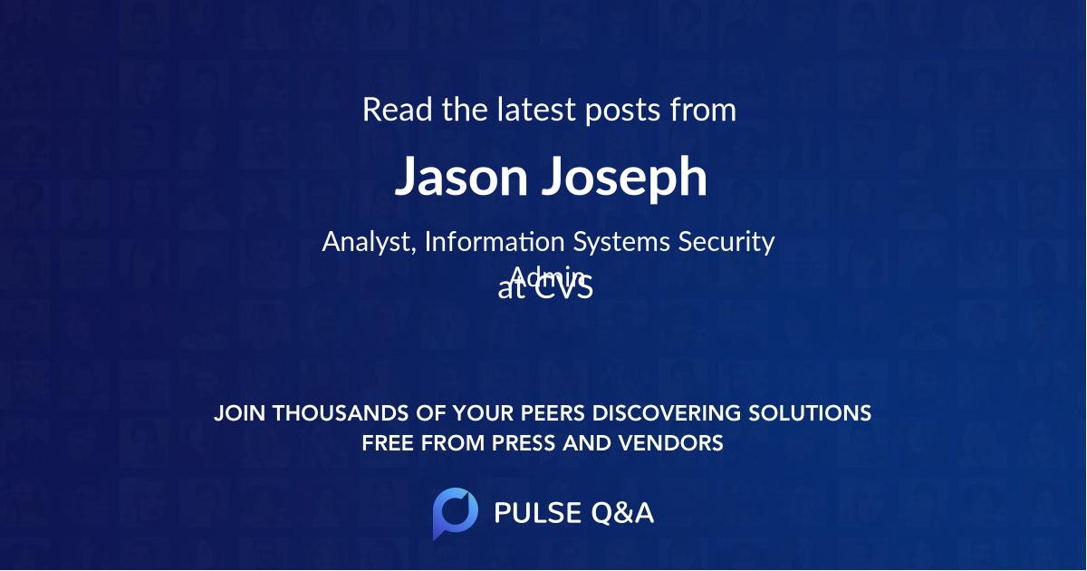 Jason Joseph
