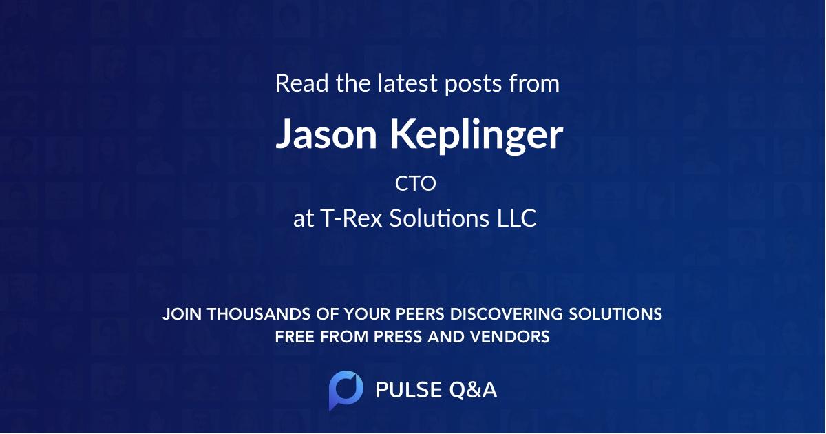 Jason Keplinger