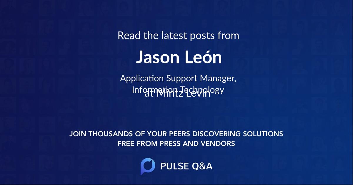 Jason León