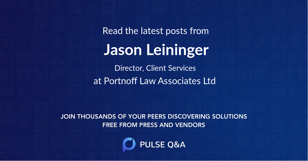 Jason Leininger