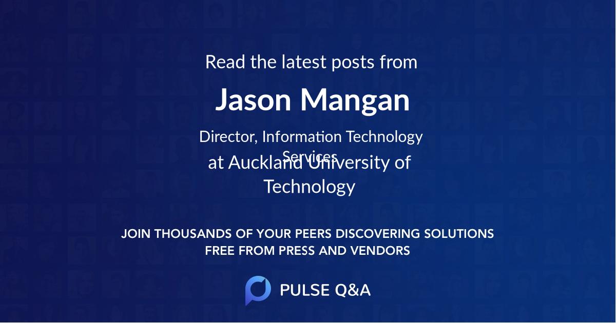 Jason Mangan