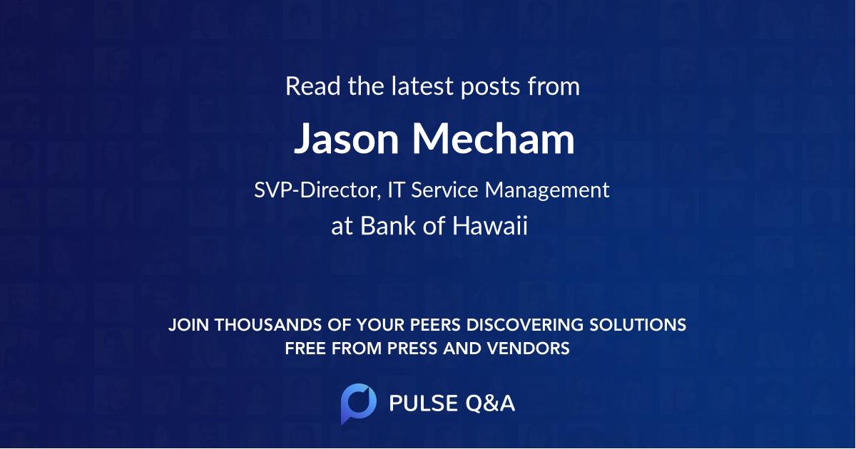 Jason Mecham