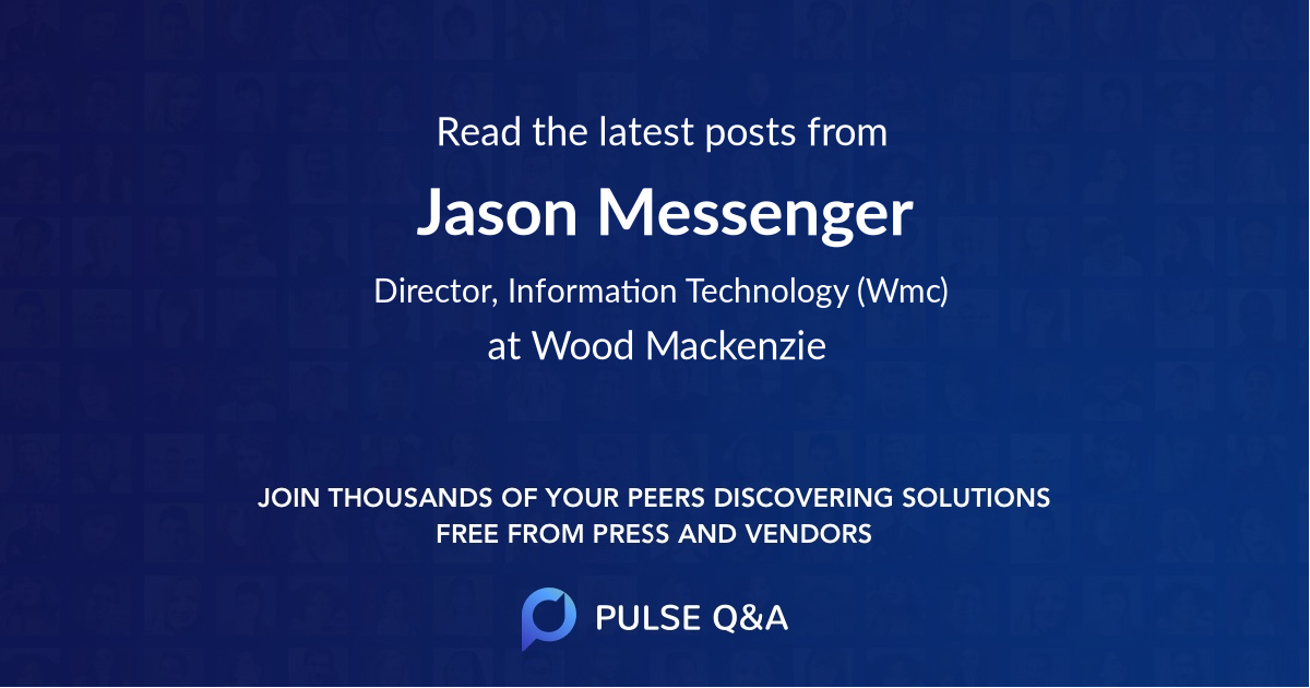 Jason Messenger