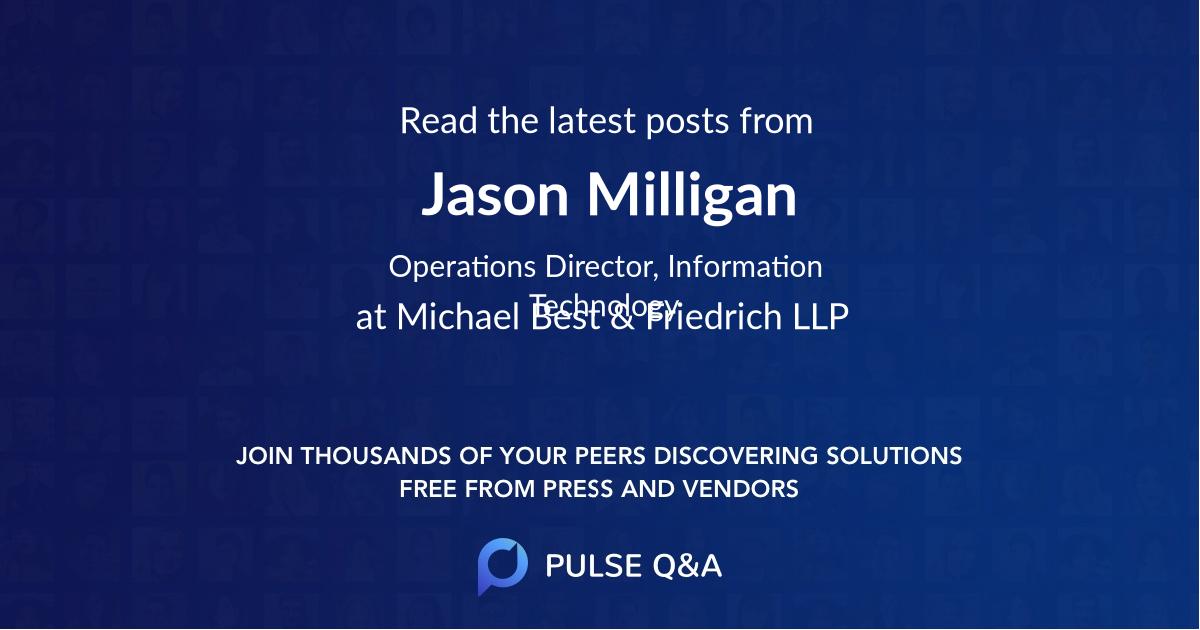 Jason Milligan