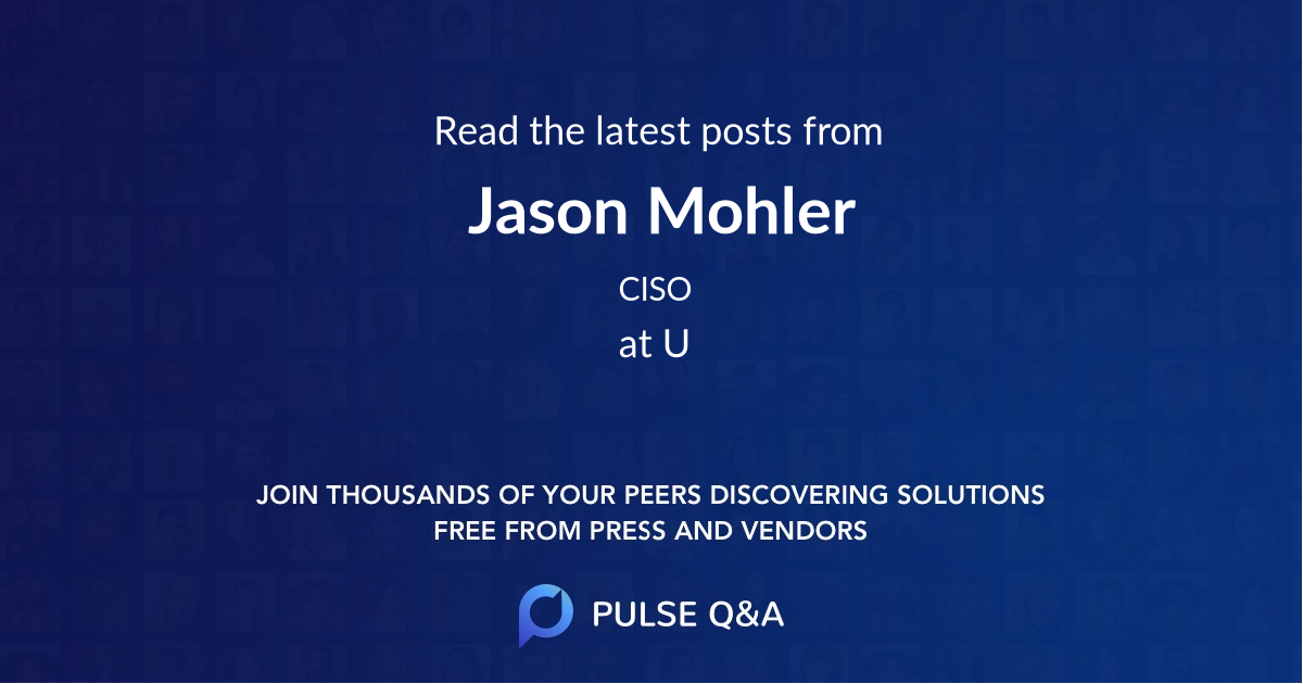 Jason Mohler