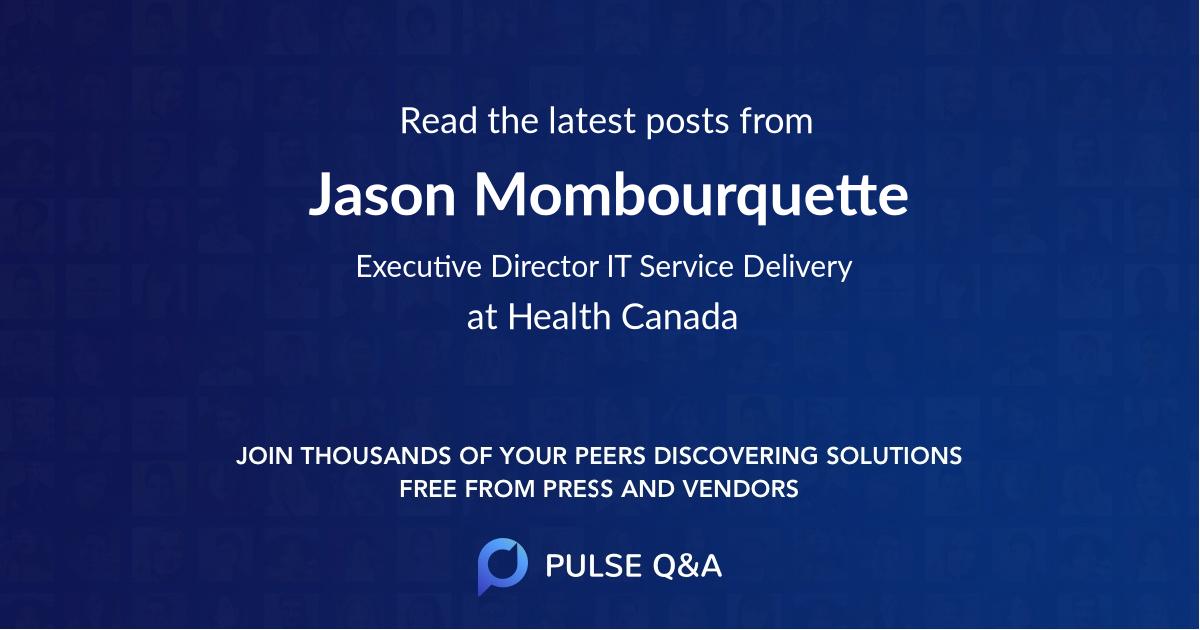 Jason Mombourquette
