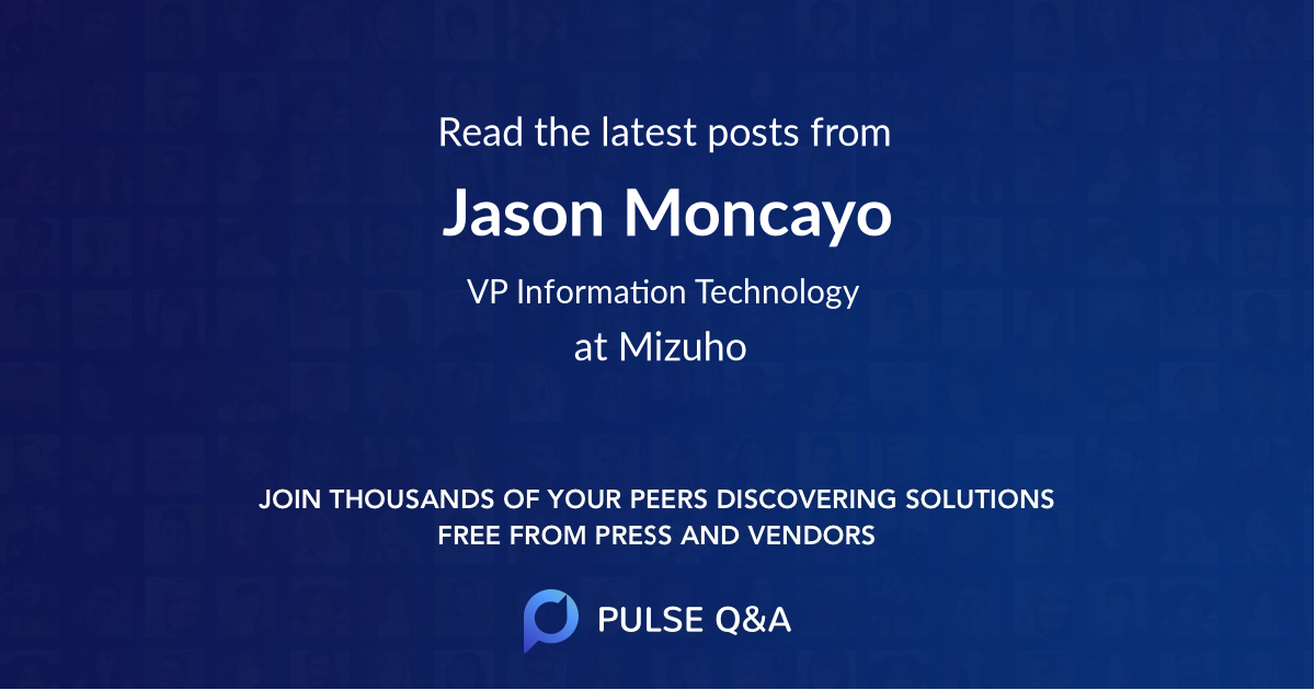 Jason Moncayo