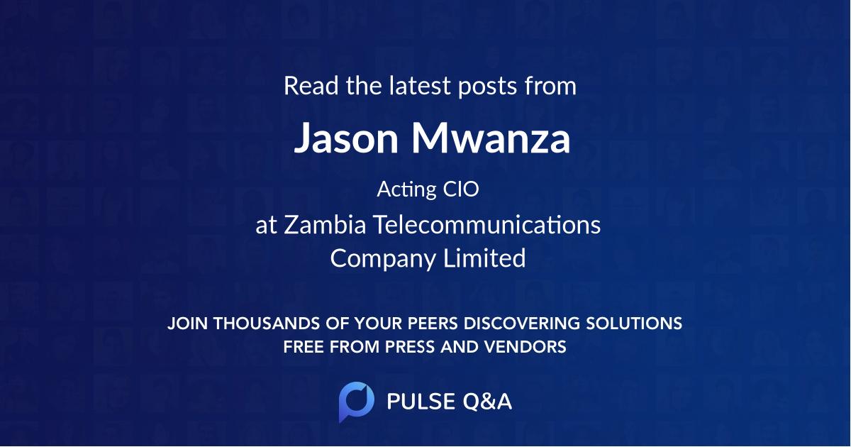 Jason Mwanza