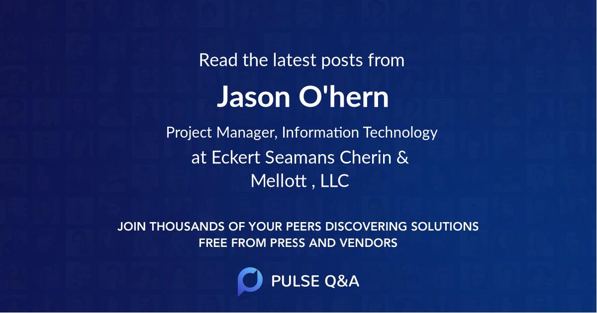 Jason O'hern