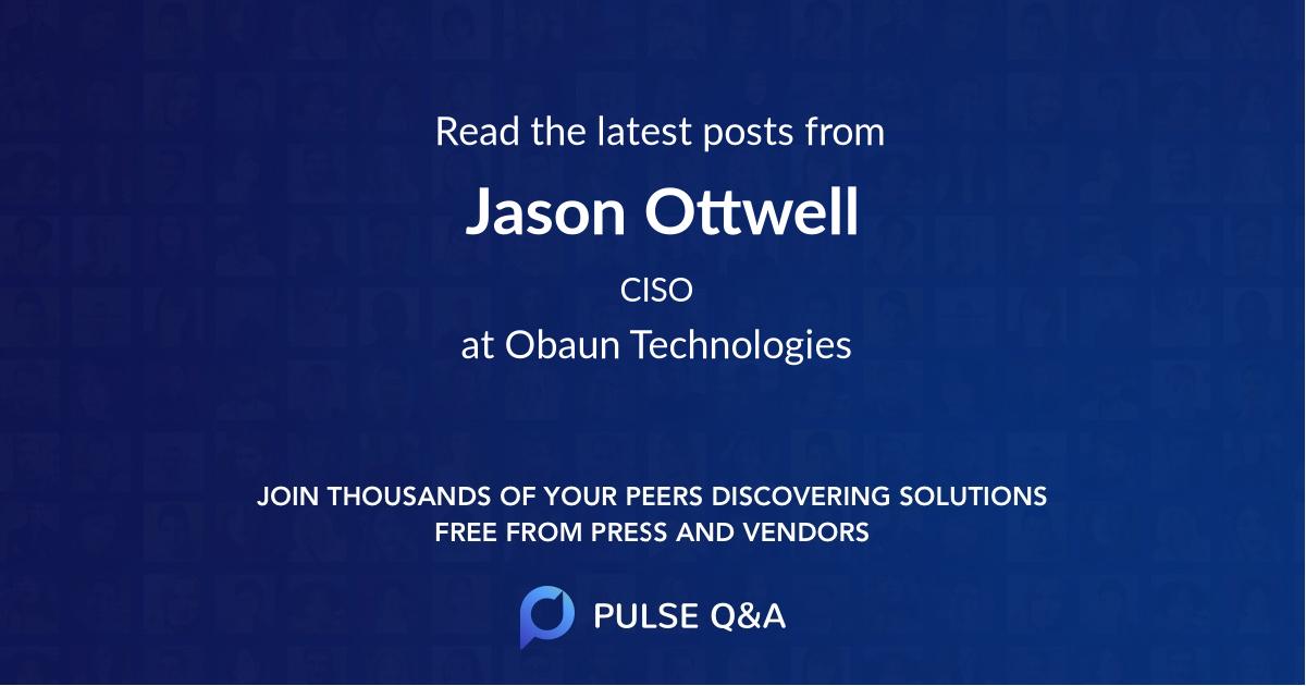 Jason Ottwell