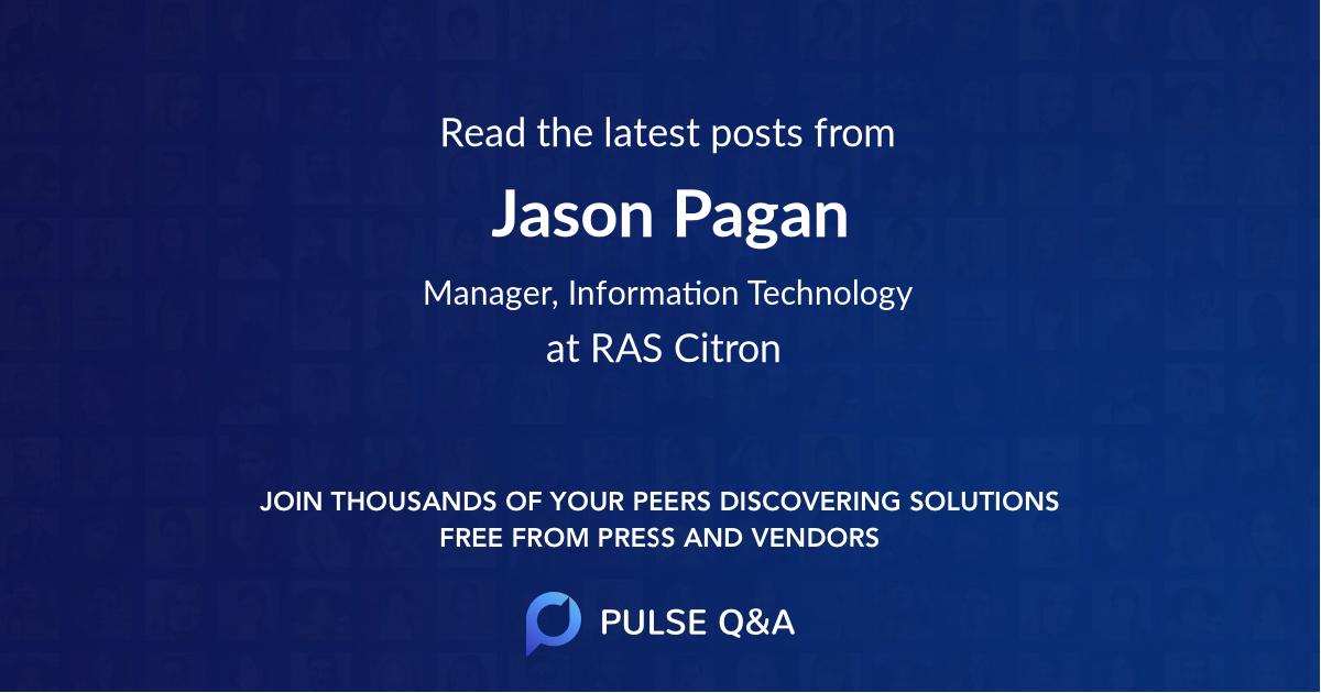 Jason Pagan