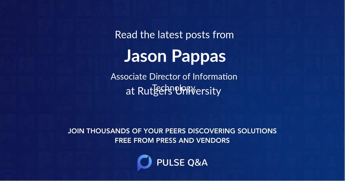 Jason Pappas