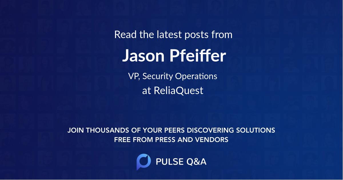 Jason Pfeiffer