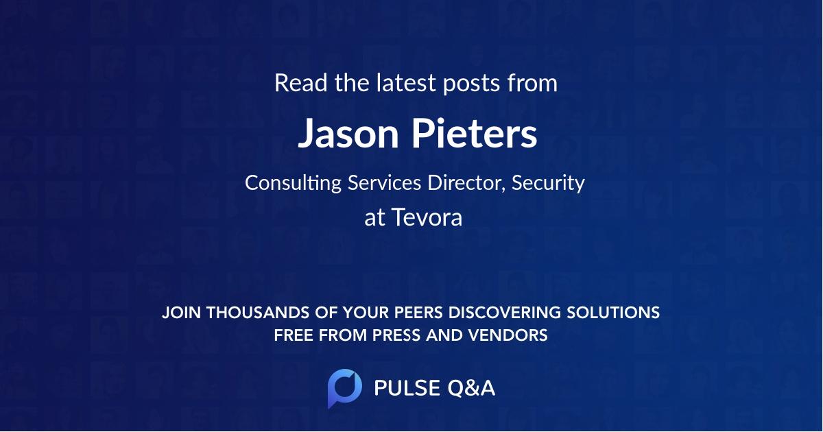Jason Pieters