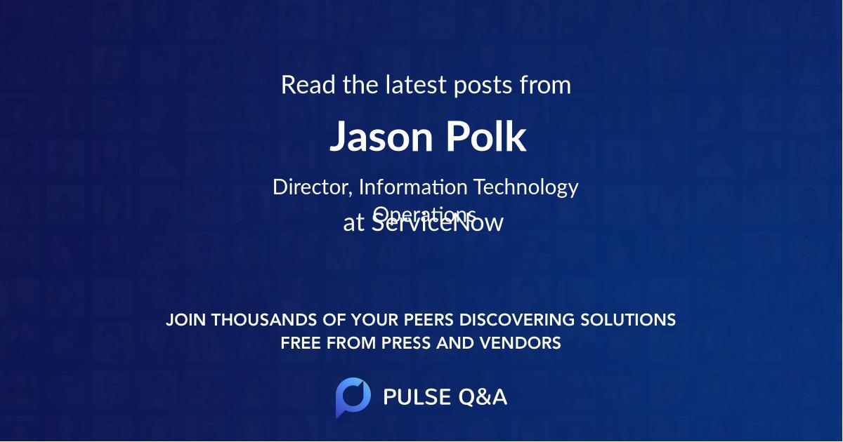 Jason Polk