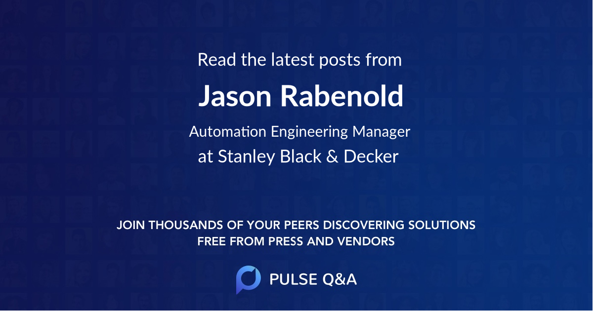 Jason Rabenold