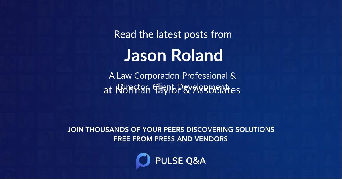 Jason Roland