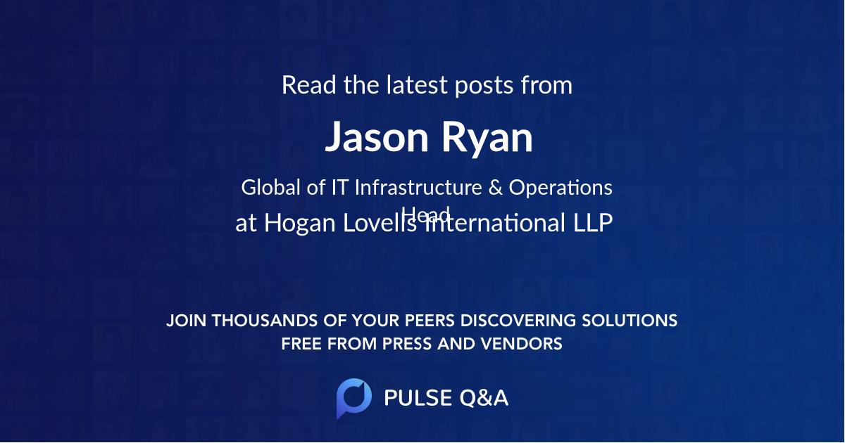 Jason Ryan
