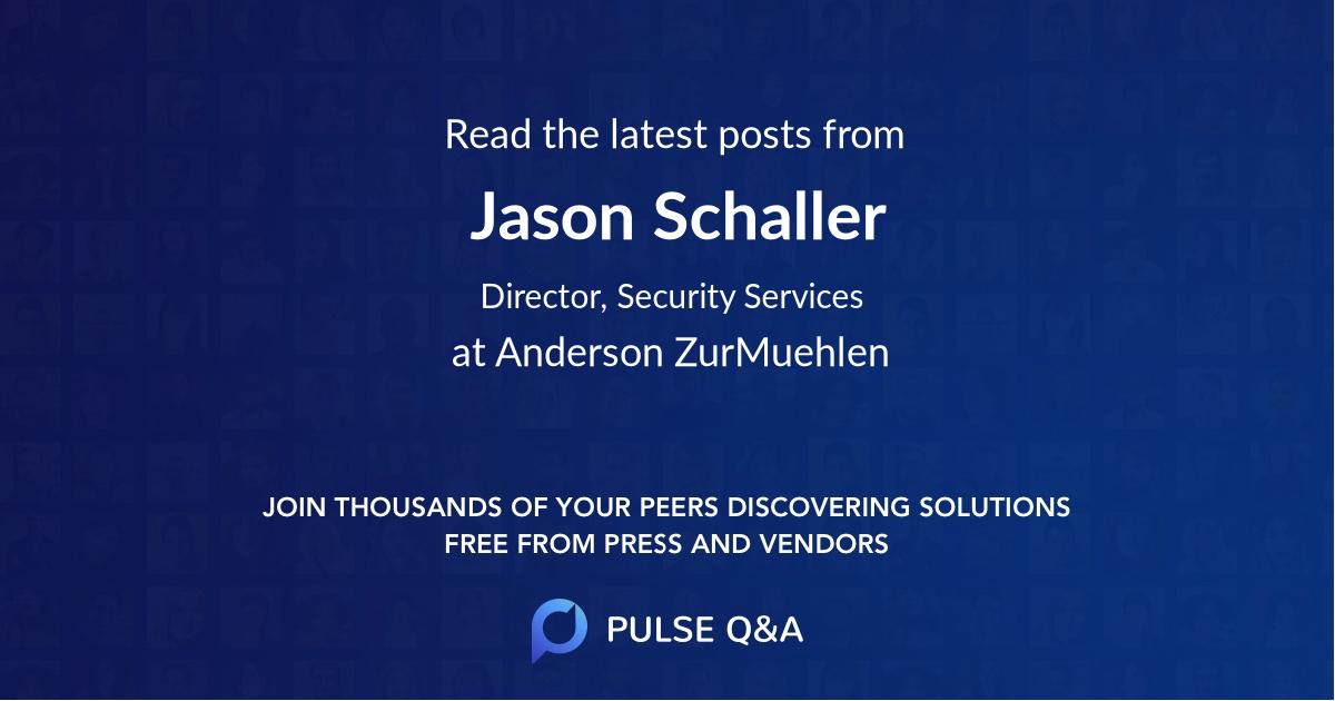 Jason Schaller