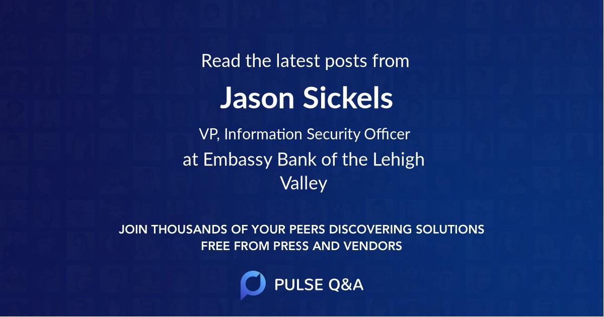 Jason Sickels