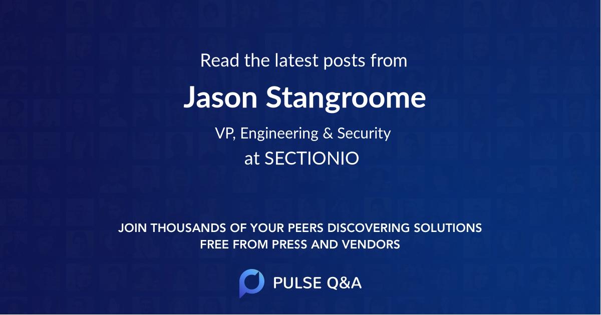 Jason Stangroome