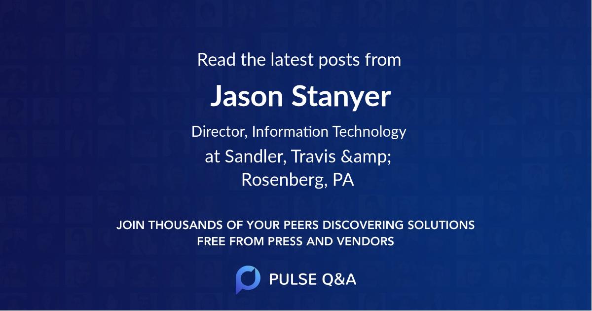 Jason Stanyer