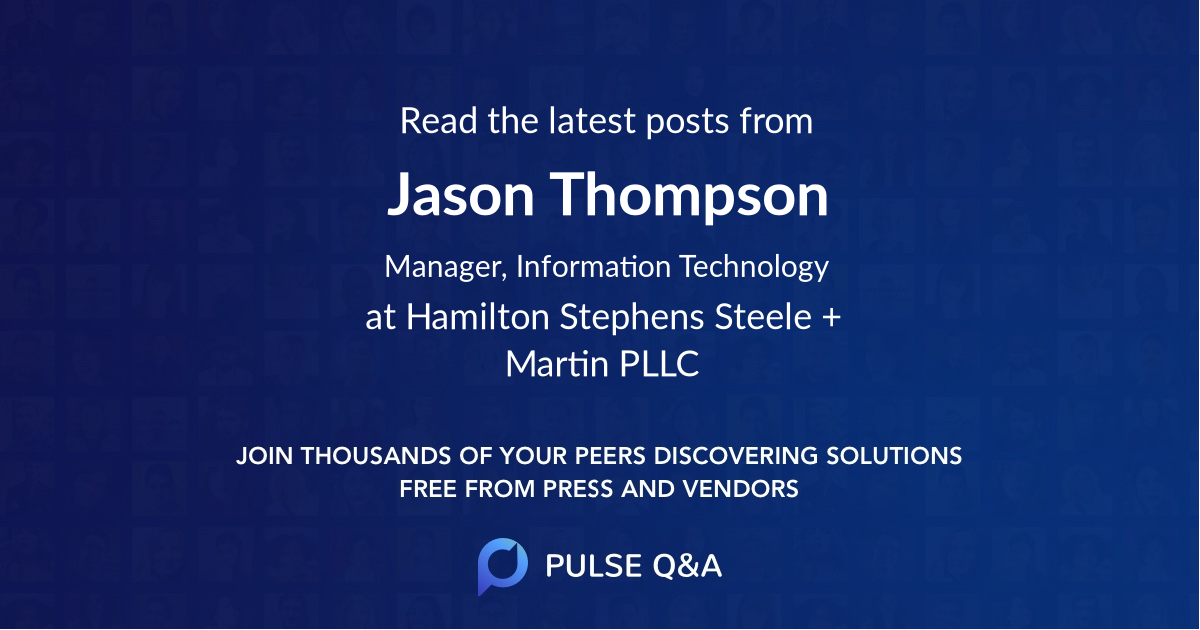 Jason Thompson