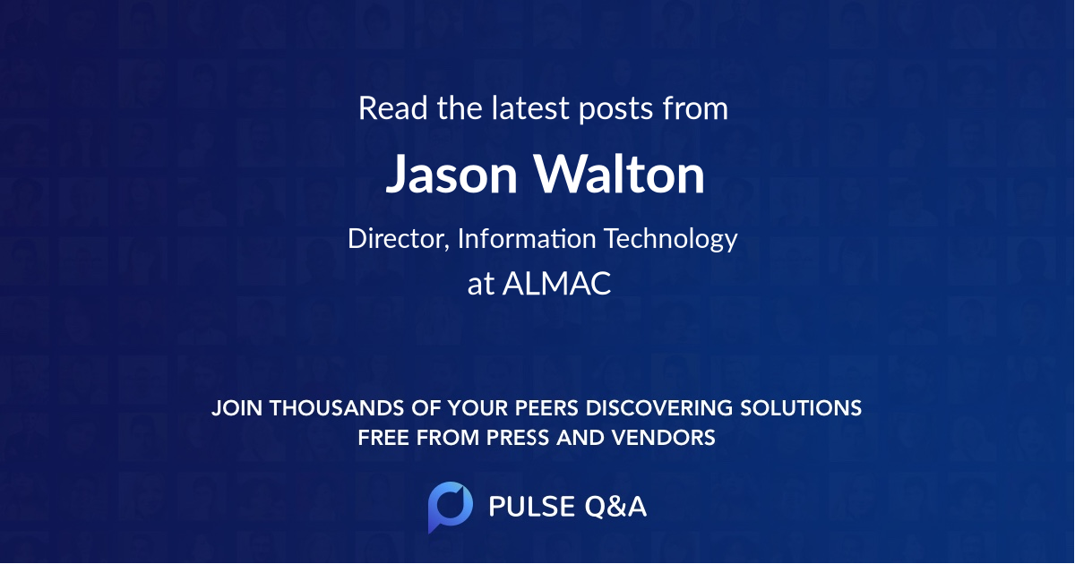Jason Walton